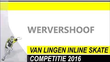 Van Lingen Inline Skate Competitie 2016 Wervershoof