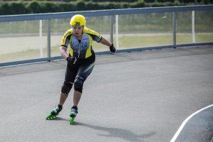Sara Oud in actie