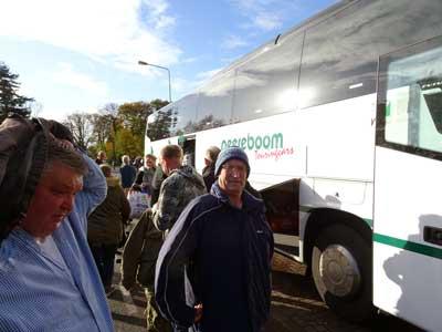 Bus aankomst Thialf1