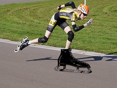 <h2>Trainen voor schaatsen</h2>