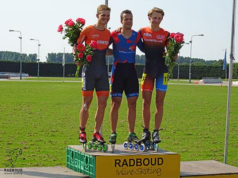 One-lap podium heren