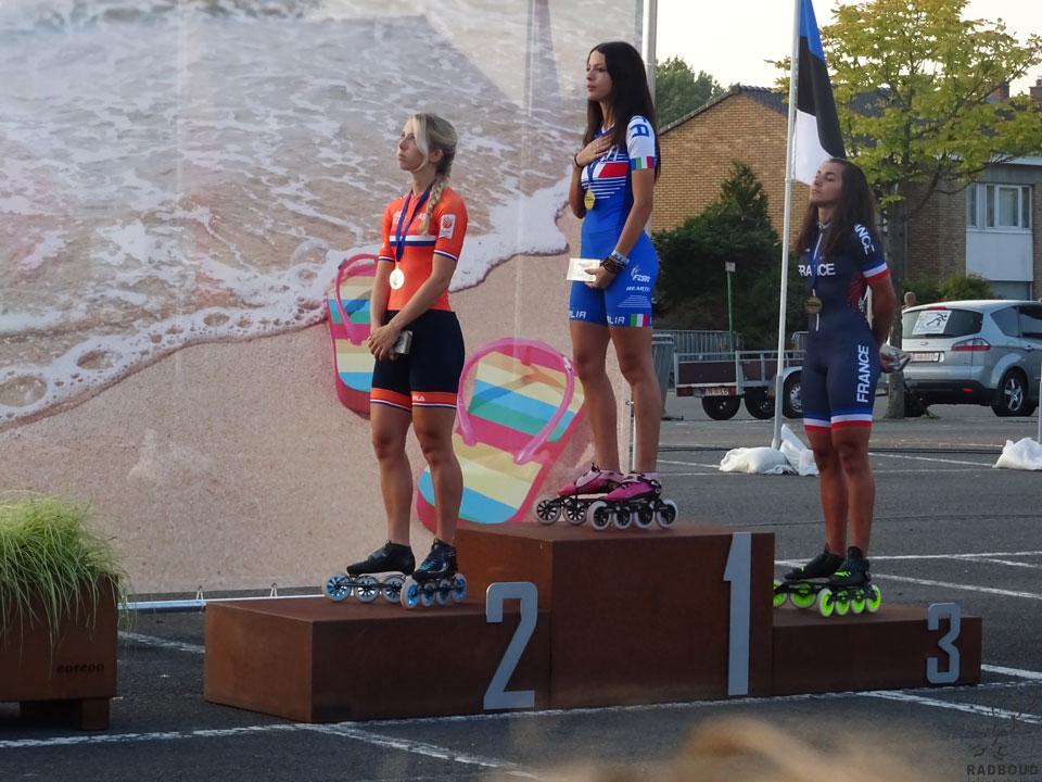 Anna van den Bos - zilver puntenkoers