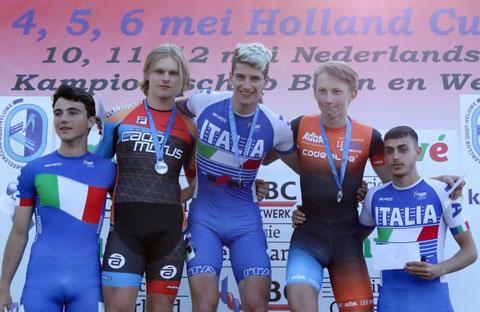 Janno Botman 2e (Sprintklassement) foto: Hidde Muije