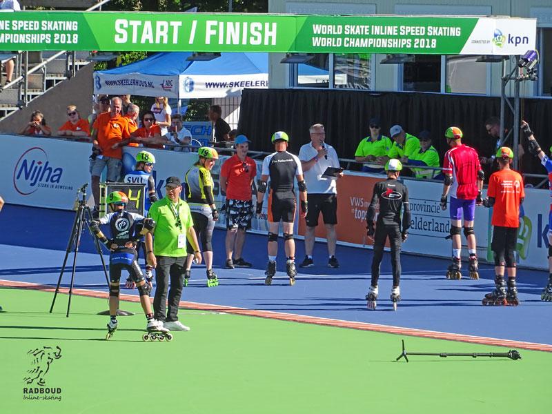 Er was ruimte in het programma voor nog een extra wedstrijd mass start.