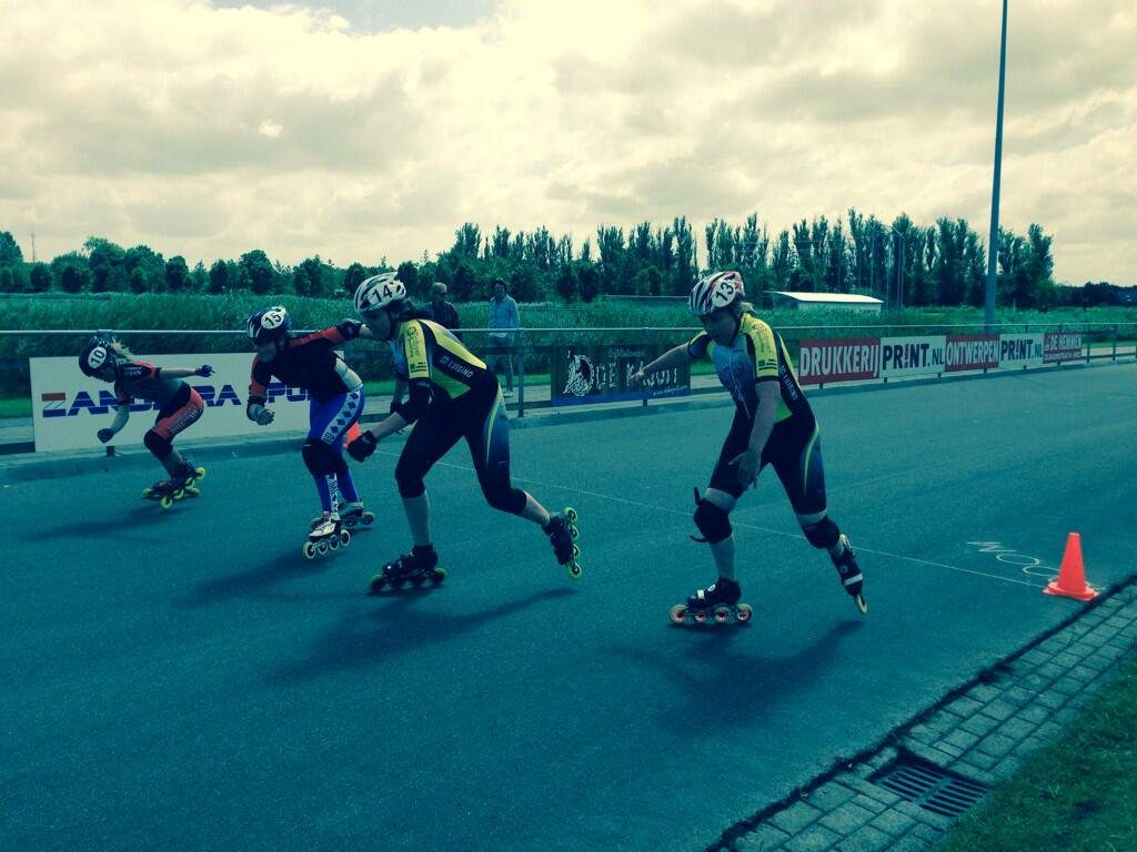 Onze #Radboudbikkels in actie op Nationale Special Games in Sneek dit weekend! Hup Alicia, René, Sara, Sofie & Tessa