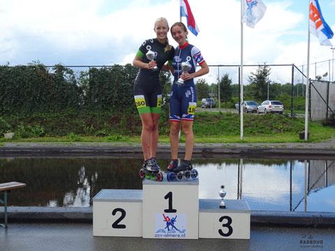 Winst in het eindklassement voor Evelien Vijn!