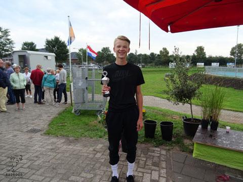 Ivo de la Porte 3e in het eindklassement