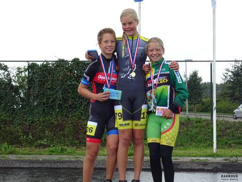 Janne Berkhout 1e in dagklassement