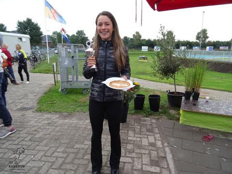 Ramona Westerhuis 3e in het eindklassement