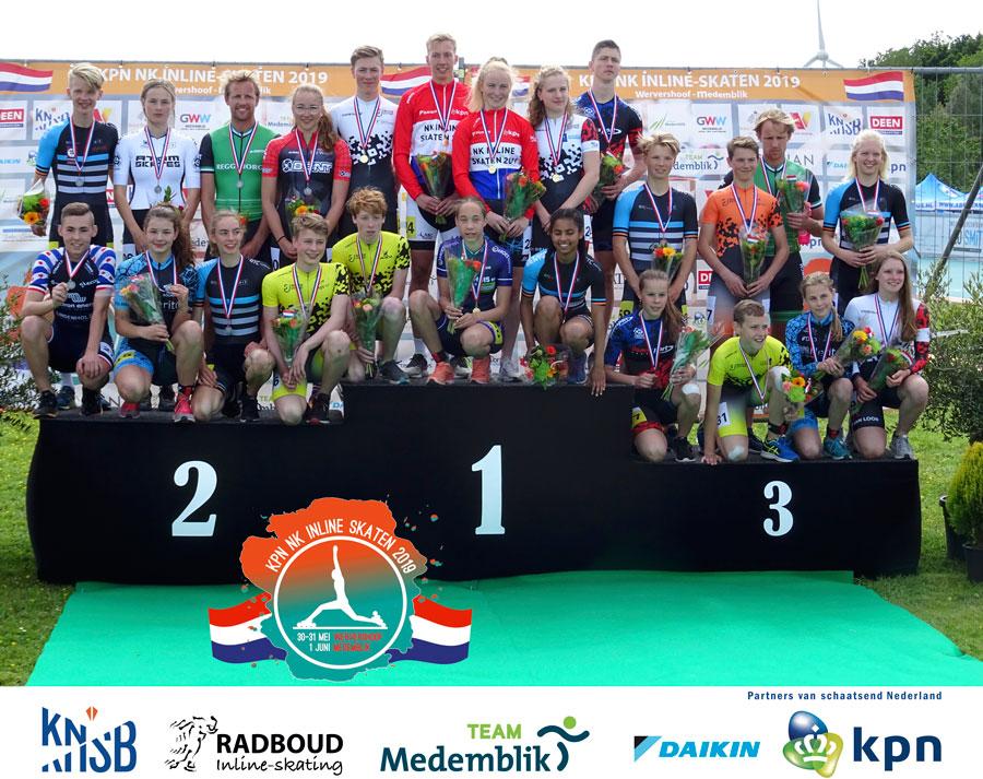 Alle winnaars van de 500m